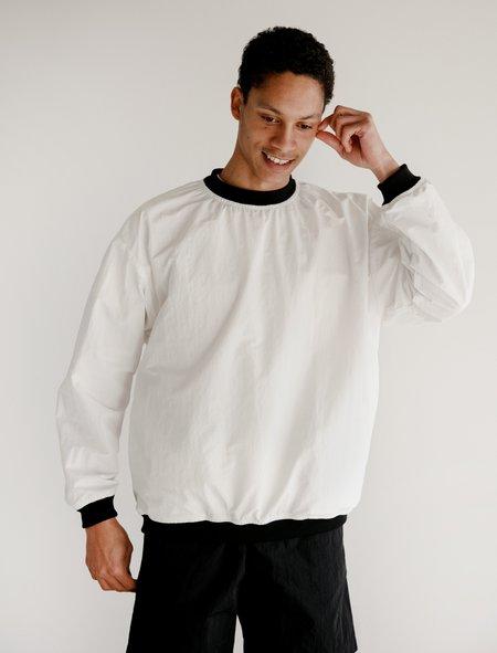 Paa Pullover Windbreaker - White/Black