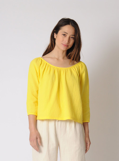 Atelier Delphine Afton Top - Sunflower