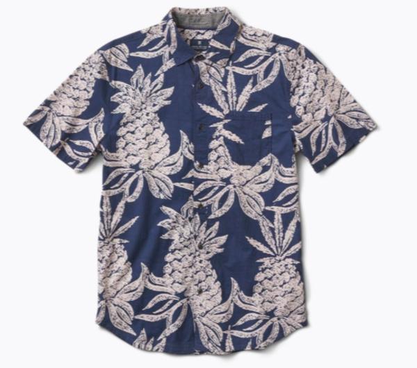 Roark Revival Hineapple Button Up Shirt
