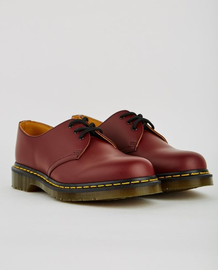 Dr. Martens 1461 3 EYE GIBSON - CHERRY RED