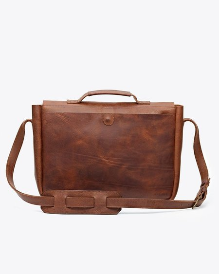 Nisolo Loreto Messenger Bag - Chestnut