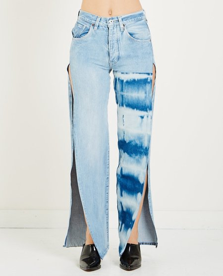Levi's Made & Crafted SPLIT ARROW JEAN - OCEAN SHIBORI