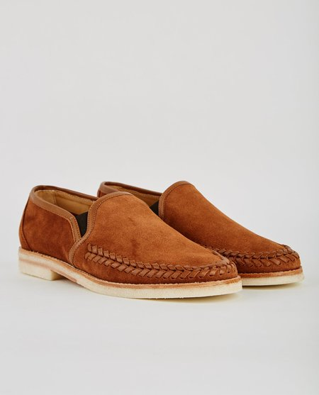 H by Hudson TANGIER SUEDE LOAFER - TAN