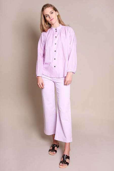 No.6 Quinn Field Blouse in Lilac
