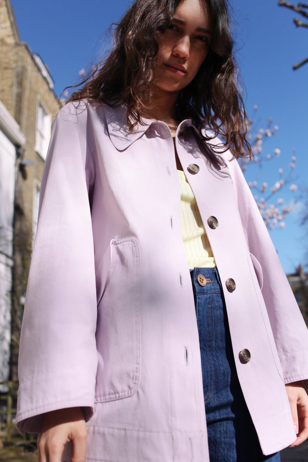 NO.6 Lilac Everyday Jacket - Lilac