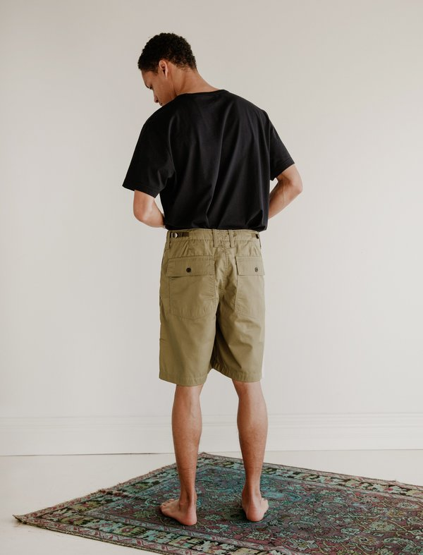 Our Legacy Army Shorts - Olive Tactic Twill