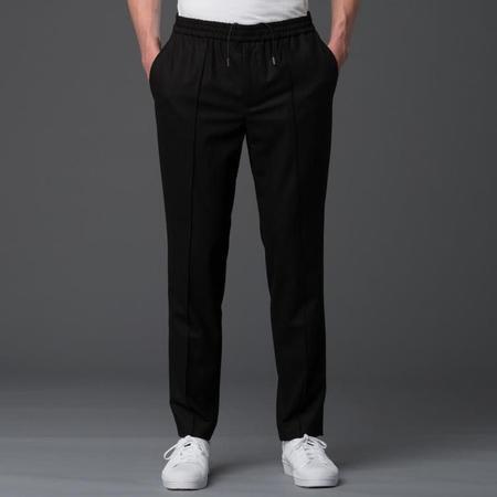 Deveaux Elasticated Pintuck Trouser