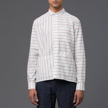 Ddugoff Sol Four Pocket Shirt - Multistripe