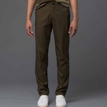 Ddugoff Rodney Slim Pant in Drab Summer Twill