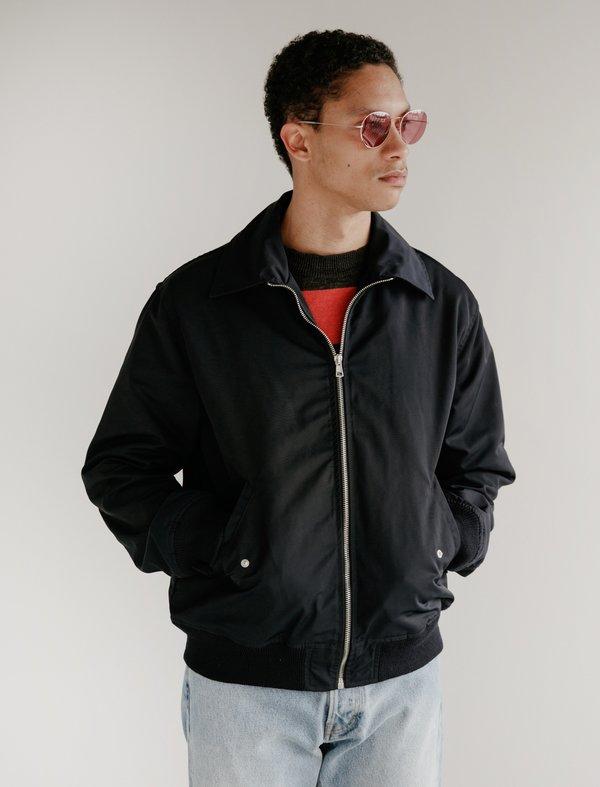 Our Legacy Tech Harrington Jacket - Navy Nylon