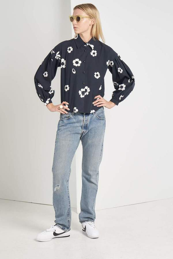 Mr. Larkin Poppy Shirt