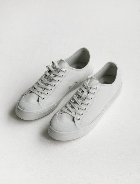 Erik Schedin Mineral Grey Canvas Sneaker