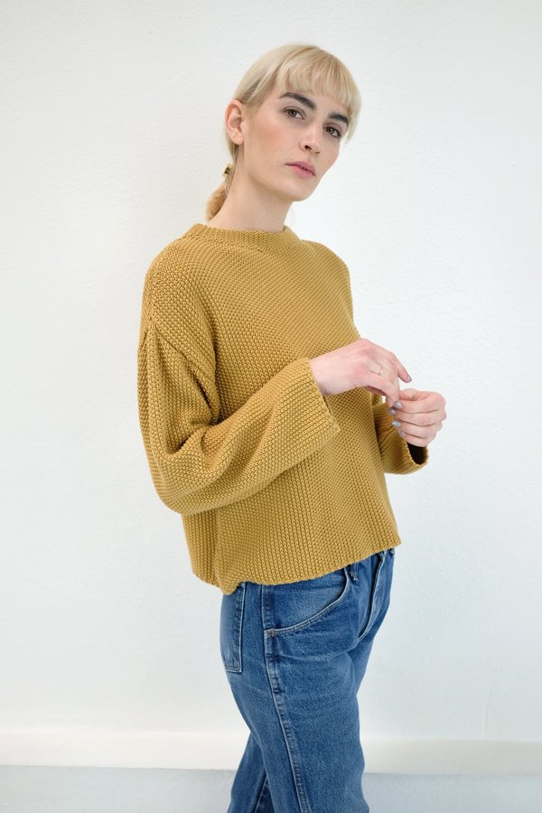 Micaela Greg Seed Sweater in Maize