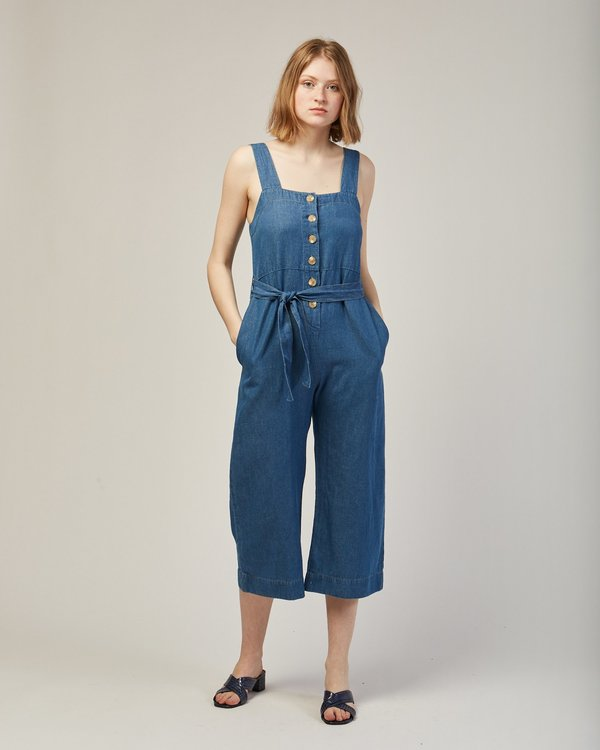 Micaela Greg Palma Jumpsuit in Blue