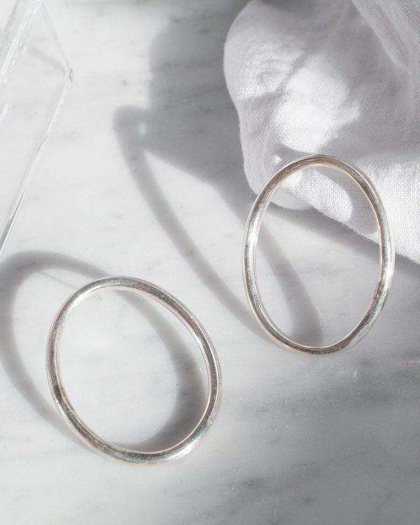 Hey Murphy Oval Hoop Earrings