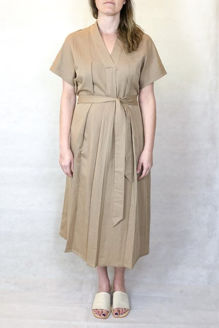 7115 by Szeki hanbok dress - clay