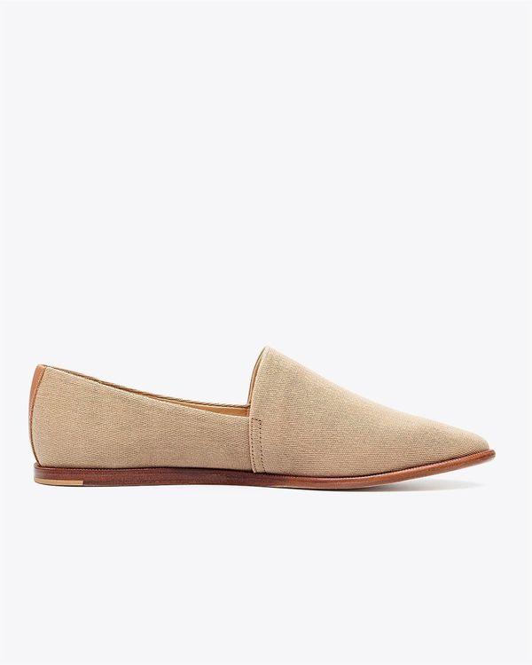 Nisolo Nora Slip On - Vintage Khaki