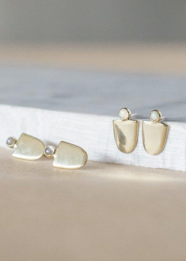 Seaworthy Mujer Earrings - Brass