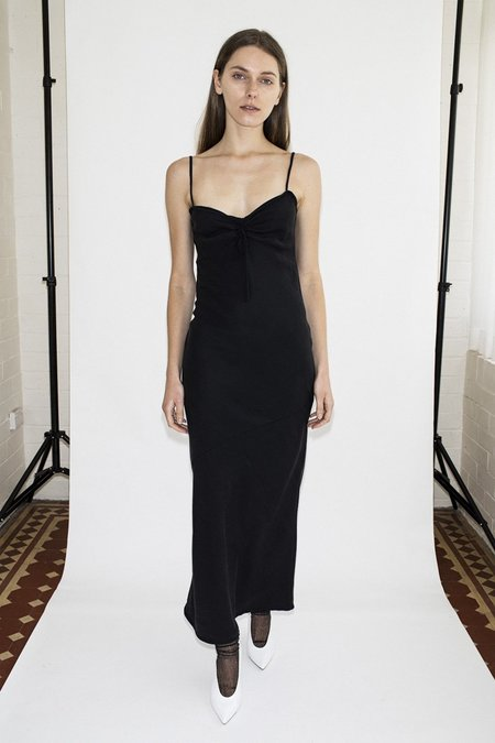 Hunter Jane Slip Dress - Black