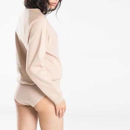 Baserange Basic Sweatshirt - Beige