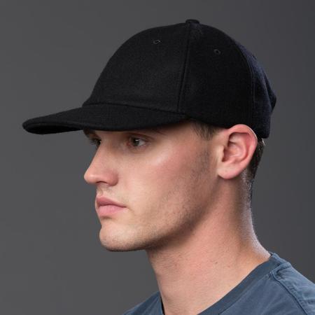 Freemans Sporting Club Melton Wool Cap - Black