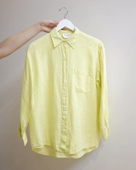 Hey Jude Vintage Long Sleeve Button Down Shirt
