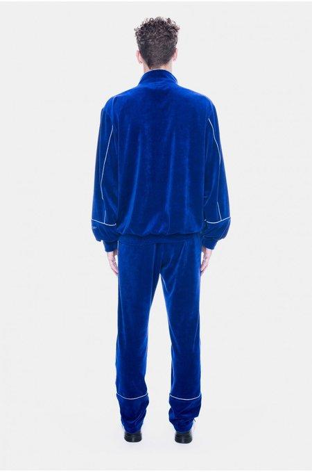 UNISEX Neige Velour Sweatshirt - Blue
