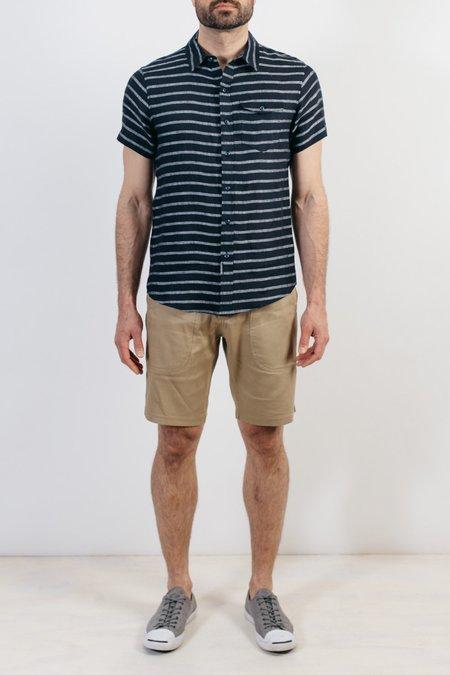 Bridge & Burn Thomas Shirt - Navy Stripe