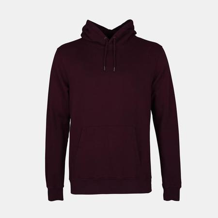 UNISEX Colorful Standard Copy of Classic Organic Hoody - Oxblood Red