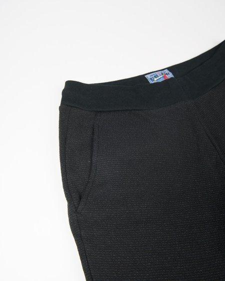 Blue Blue Japan Crepe Knit Sweat Rib Hem Pants