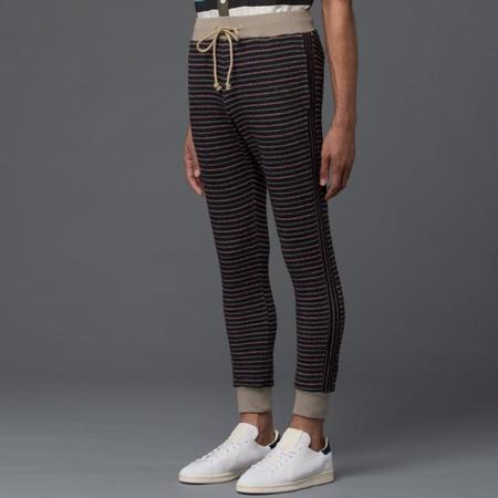 Thaddeus O'Neil Striped Pipe Pant