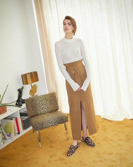Nanushka Zina Knit Skirt