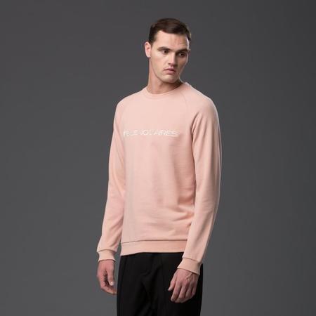 """Carlos Campos """"BUENOS AIRES"""" Blush Sweatshirt"""