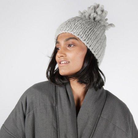 Album di Famiglia 9556 Womens Beanie - Ice Grey