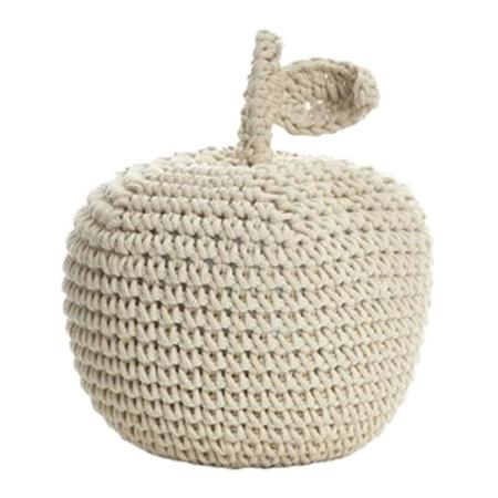 Kids Anne-Claire Petit Crochet Small Apple - Natural