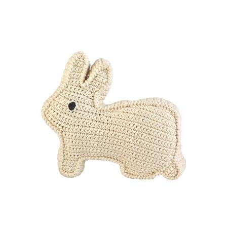 Kids Anne-Claire Petit Rabbit Beep Toy - WHITE