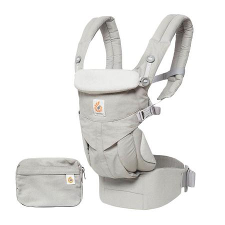 KIDS Ergobaby Ergo Baby Omni 360 All-In-One Baby Carrier - Pearl Grey