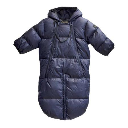 Kids Finger In The Nose Snowbird Down Baby Warmer - Navy