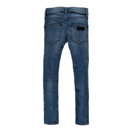 Kids Finger in the Nose Tama Woven Skinny Fit Jeans - Maggy Blue