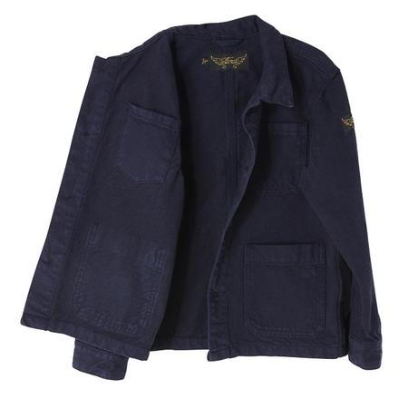 Kids Finger In The Nose Warren Jacket - Super Navy Blue