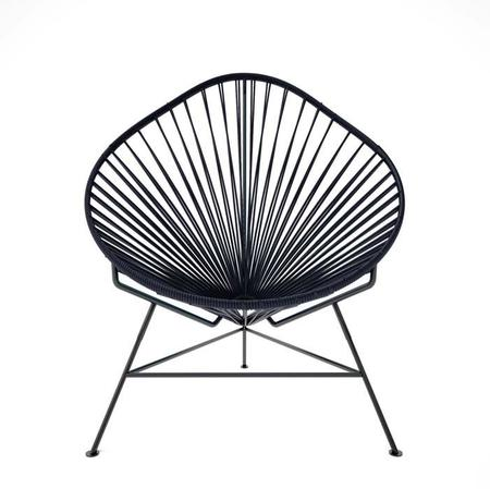 Kids Innit Baby Acapulco Chair - Black