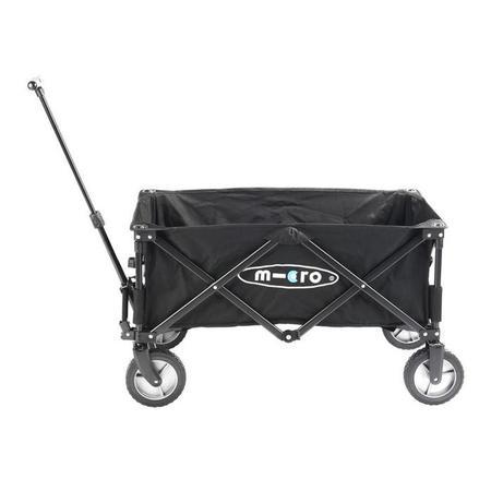KIDS Micro Scooter Micro Folding Wagon - Black