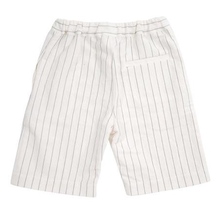 KIDS Makié Daniel Knee Pants - Cream/Pinstripe