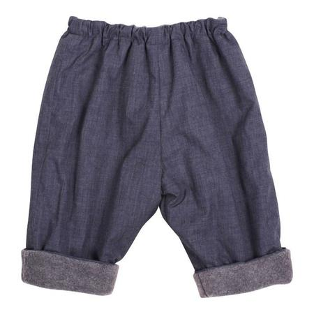 Kids Makié Gasa Pants - Chambray Blue
