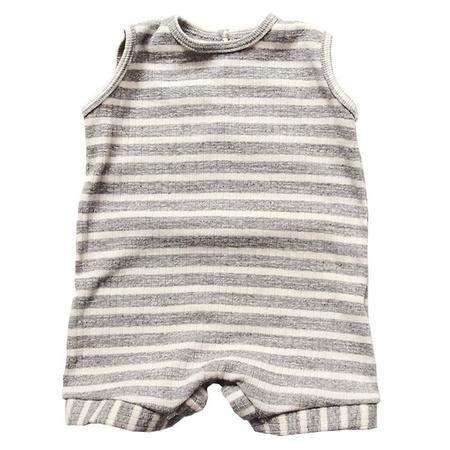 KIDS Makié Sleeveless Onesie Carson - Grey/Ivory