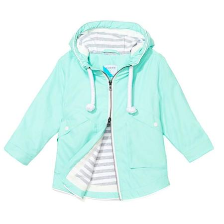 Kids Trout Rainwear Minnow Rain Jacket - Turquoise