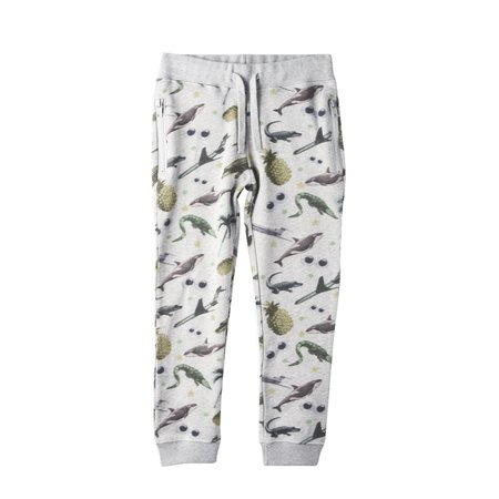 Kids Stella McCartney Joseph Sticker Print Sweatpant - Grey