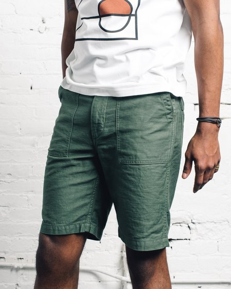 Orslow Fatigue Shorts - Green