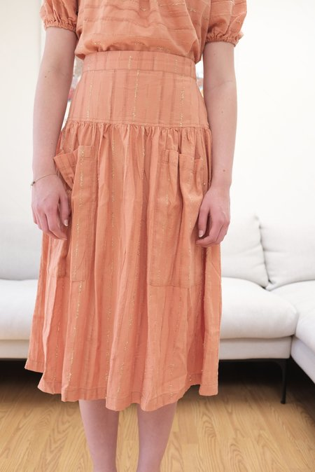 Ace & Jig Porto Skirt in Clay
