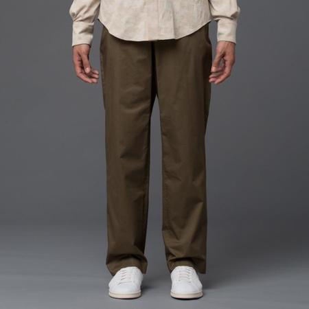 Carlos Campos Wide Leg Trouser - Tobacco